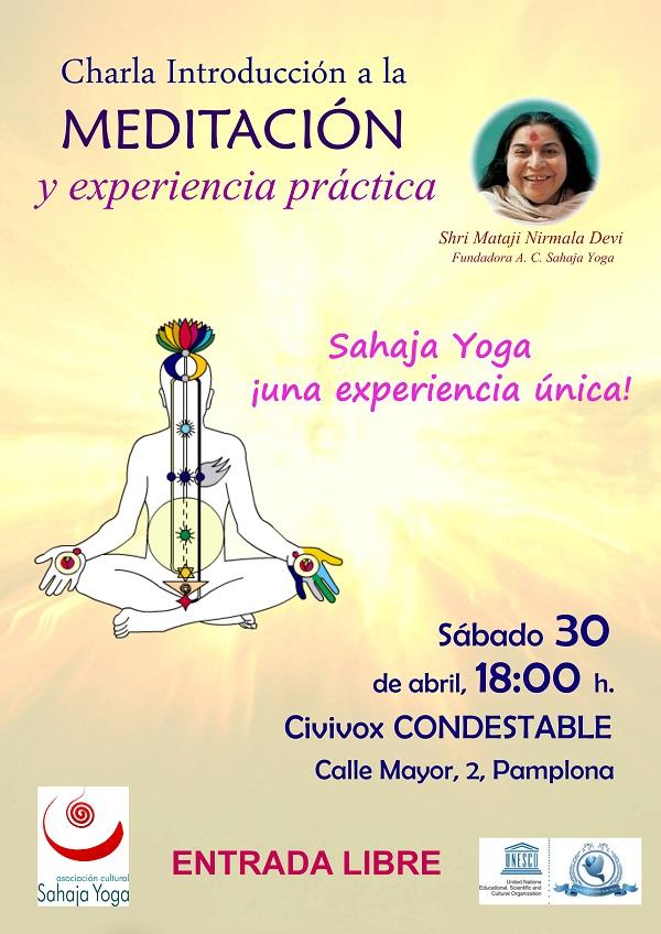 Introducción a la meditación en Pamplona