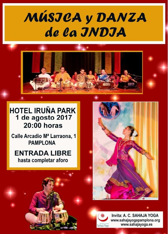 Concierto India Pamplona